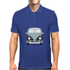 VW Type 2 In Blue Mens Polo