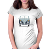 VW Type 2 In Blue Womens Fitted T-Shirt
