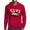 VW Volkswagen Golf 5 GTI MKV - Red Mens Hoodie