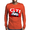 VW Volkswagen Golf 5 GTI MKV - Red Mens Long Sleeve T-Shirt