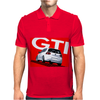 VW Volkswagen Golf 5 GTI MKV - Red Mens Polo
