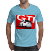 VW Volkswagen Golf 5 GTI MKV - Red Mens T-Shirt