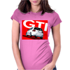 VW Volkswagen Golf 5 GTI MKV - Red Womens Fitted T-Shirt