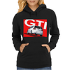 VW Volkswagen Golf 5 GTI MKV - Red Womens Hoodie