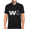 W  With Image Of An Anchor Great Gift Brother Mens Polo