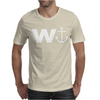 W  With Image Of An Anchor Great Gift Brother Mens T-Shirt