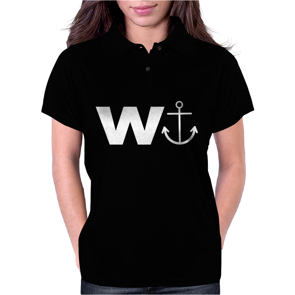 W  With Image Of An Anchor Great Gift Brother Womens Polo