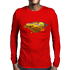Waffle a'la Minion Mens Long Sleeve T-Shirt