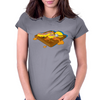 Waffle a'la Minion Womens Fitted T-Shirt