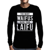 Waifu Laifu Mens Long Sleeve T-Shirt
