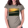 Waikiki Sunset Womens Fitted T-Shirt