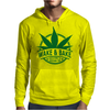 Wake And Bake, Rise And Shine Its Marijuana Time Mens Hoodie