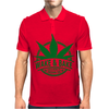 Wake And Bake, Rise And Shine Its Marijuana Time Mens Polo