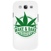 Wake And Bake, Rise And Shine Its Marijuana Time Phone Case