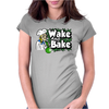 Wake And Bake Womens Fitted T-Shirt