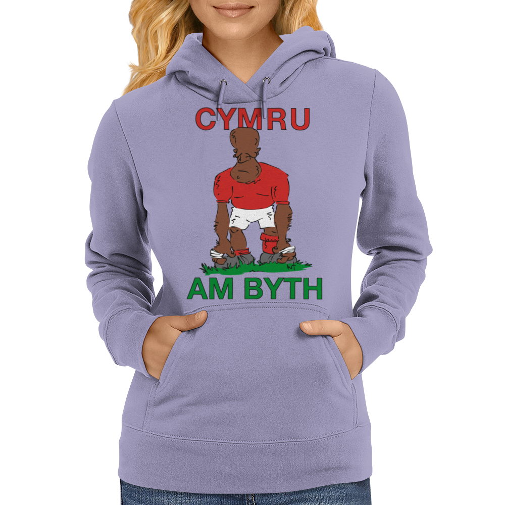 Wales Rugby 2nd Row Forward World Cup Womens Hoodie