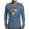 Wales Rugby Back World Cup Mens Long Sleeve T-Shirt