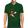 Wales Rugby Back World Cup Mens Polo