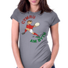 Wales Rugby Back World Cup Womens Fitted T-Shirt
