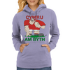 Wales Rugby Forward World Cup Womens Hoodie