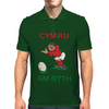 Wales Rugby Kicker World Cup Mens Polo