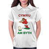 Wales Rugby Kicker World Cup Womens Polo