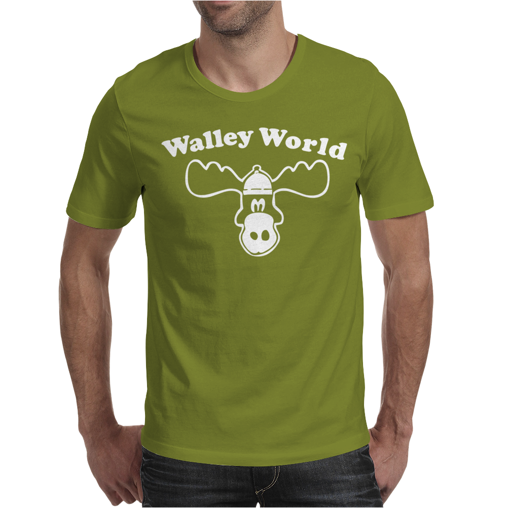 Waley World Mens T-Shirt