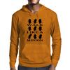 Walk like a minion Mens Hoodie