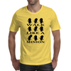 Walk like a minion Mens T-Shirt