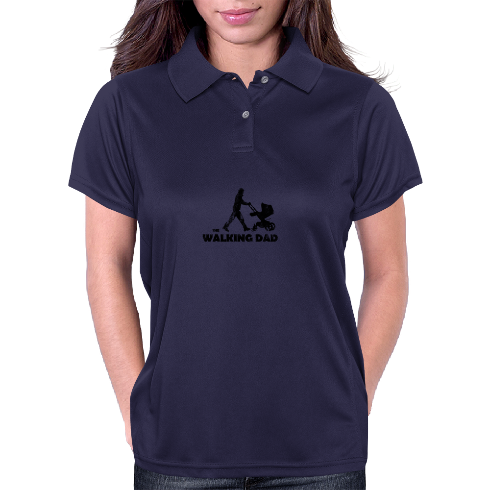 Walking Dad Womens Polo