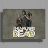 Walking Dead - Carol and Daryl Poster Print (Landscape)