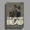 Walking Dead - Carol and Daryl Poster Print (Portrait)