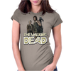 Walking Dead - Carol and Daryl Womens Fitted T-Shirt