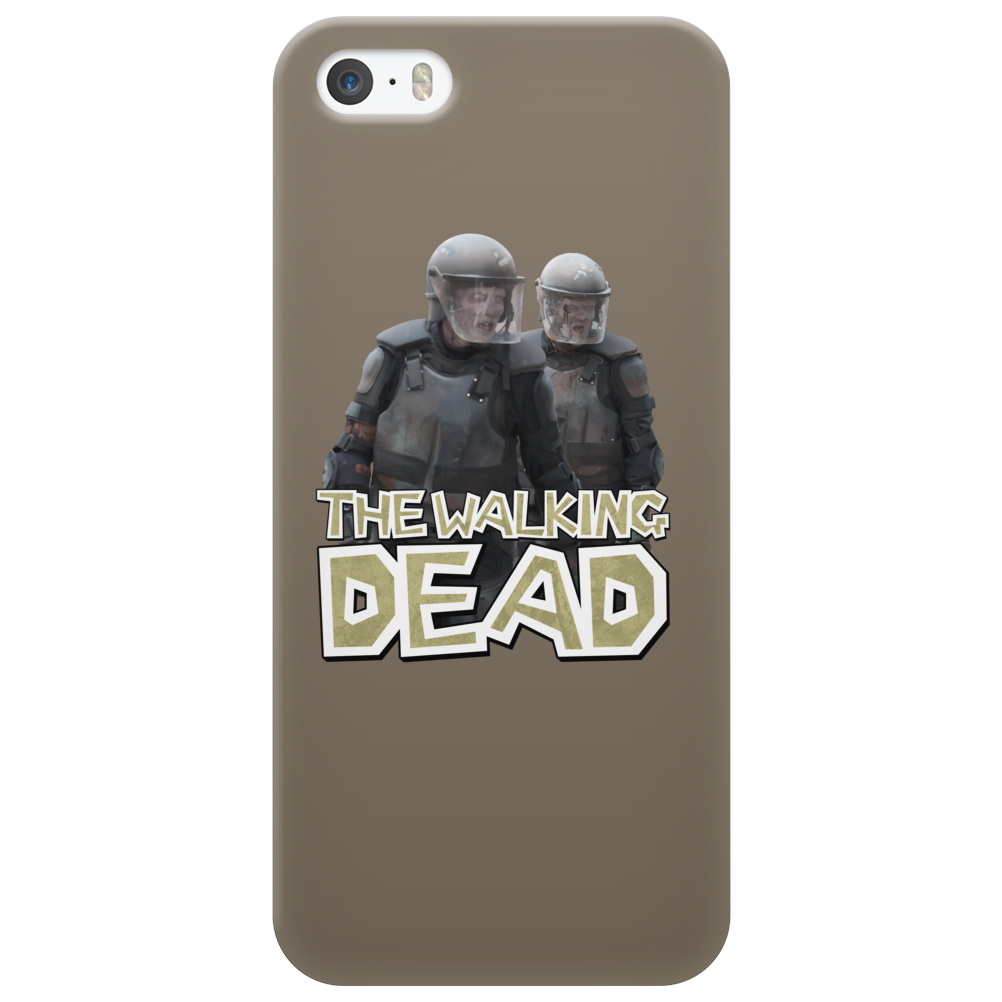 Walking Dead - Riot Gear Zombies Phone Case