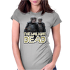 Walking Dead - Riot Gear Zombies Womens Fitted T-Shirt