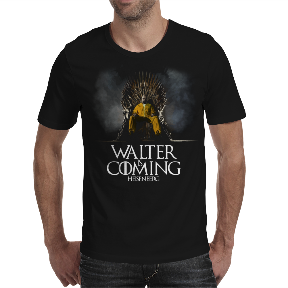 Walter is Coming Mens T-Shirt