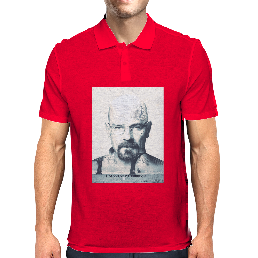 Walter White (Heisenberg) Breaking Bad, awesome TV Serie Mens Polo