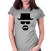 Walter White Shadow Womens Fitted T-Shirt