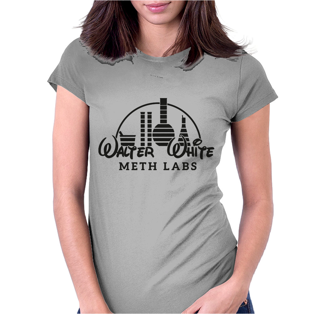Walter White Womens Fitted T-Shirt