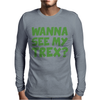 Wanna See My T Rex Mens Long Sleeve T-Shirt
