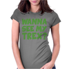 Wanna See My T Rex Womens Fitted T-Shirt