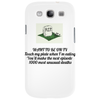 WANT TO BE ON TV  Touch my plate when I'm eating you'll make the next episode1000 most unusual death Phone Case