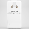 Want to know what looks good on a woman ............ Phone Case