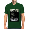 War Never Changes Mens Polo