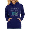 WARNING! I MAY SPONTANOUSLY BURST INTO DISNEY SONGS  Womens Hoodie