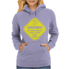 Warning May...Talking About Fishing Womens Hoodie