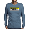 Warning Offensive Mens Funny Mens Long Sleeve T-Shirt