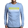 Warning Offensive Mens Funny. Mens Long Sleeve T-Shirt