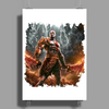 warrior game Poster Print (Portrait)