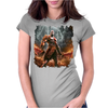 warrior game Womens Fitted T-Shirt